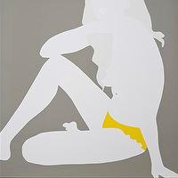 Art/Wall Decor - Eleven Fine Art - Artist detail - pop art, Natasha law, M sat in Yellow