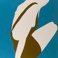 Art/Wall Decor - Eleven Fine Art - Artist detail - pop art, Natasha law, Olive Dress in Blue