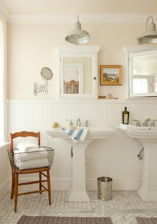 cabinets, marble, mosaic, tiles, floor, herringbone, bath mats, his