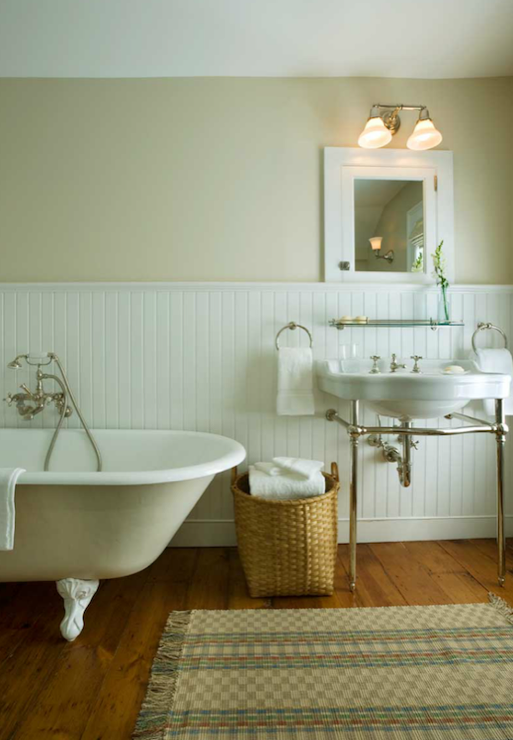 Clawfoot tub bathroom design transitional bathroom john b murray