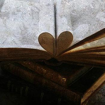Art/Wall Decor - Book Heart Photo Librarian Gift Fine Art by PhotographyByGeorgia - book, heart, photo, art