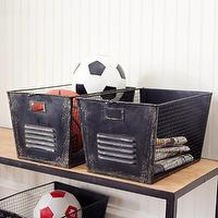 Decor/Accessories - Iron File Cabinet Bins | Storage | Wisteria - iron, file cabinet, bins