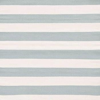 Rugs - Dash & Albert Rug Company �?» Catamaran Stripe Light Blue/Ivory Indoor/Outdoor - catamaran, stripe, light, blue, ivory, rug