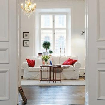 Ikea Sofa, Transitional, living room, Flourish Design & Style