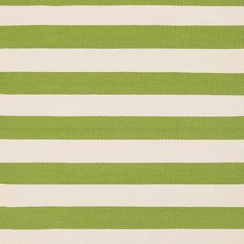 Rugs - Dash & Albert Rug Company �?» Catamaran Stripe Sprout/Ivory Indoor/Outdoor - catamaran, stripe, sprout, ivory, rug