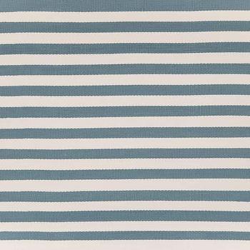 Rugs - Dash & Albert Rug Company �?» Trimaran Stripe Slate/Ivory Indoor/Outdoor - timaran, stripe, slate, ivory, rug
