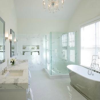 Waterworks Candide Bathtub, Traditional, bathroom, Kathleen Hay Design