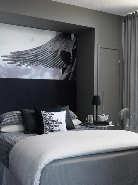 gray bedroom contemporary bedroom toronto interior design group