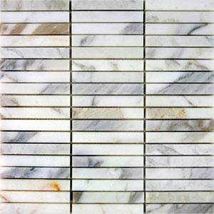 Tiles - AKDO Stacked Mosaics - akdo, stacked, calacatta, tiles
