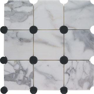 Tiles - AKDO Circle Collection - akdo, orbit, calacatta, marble, tiles