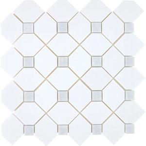 Tiles - AKDO Trellis Mosaics - akdo, trellis, thassos, zaul celeste dots, tiles