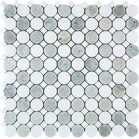 Tiles - AKDO Circle Collection - akdo, revolve, thassos, tiles