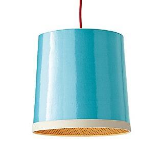 Lighting - Aqua Gumdrop Pendant | Serena & Lily - aqua, gumdrop, pendant