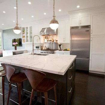 Thomas O'Brien Hicks Pendant, Contemporary, kitchen, Cardea Building Co.