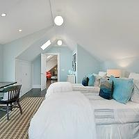 Attic Boys Room - Transitional - boy's room - Benjamin Moore ...