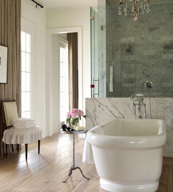 Center Bathtubs Traditional bathroom Bella Casa Design