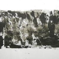 Art/Wall Decor - Black and White OOAK Original Modern Abstract Ink by Manjuzaka - black, white, modern, abstract, art, freezing my frame
