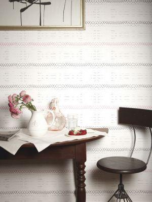 Wallpaper - Native Stripe-B & C wallpaper @ Catalog Products @ Shop @ ESKAYEL - native, stripe, wallpaper
