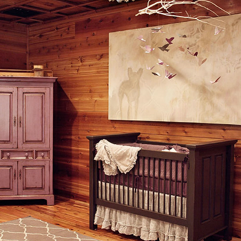 Paneled Nursery, Contemporary, nursery, Lucy and Company