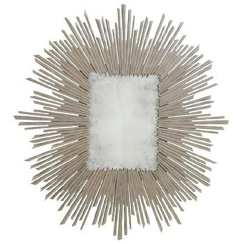 Mirrors - Soleil Mirror in Taupe - soleil, mirror, taupe