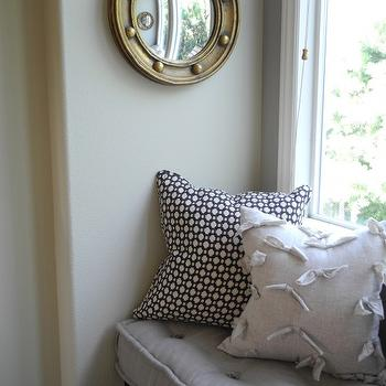Porthole Mirror, Transitional, bedroom, Pacific Family Homes
