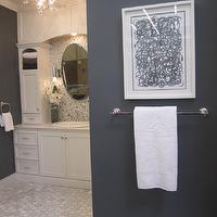 The Tile Shop - bathrooms - tile, from, the, Tile, Shop,  Kirsty Froelich - white bathroom with marble floors