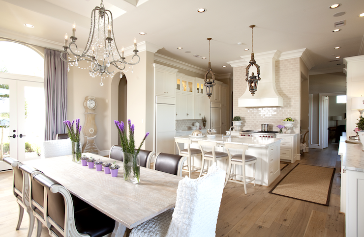 French KItchen Design - French - dining room - Dodson and Daughter
