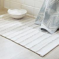 Bath - Chindi Bath Rug | Pottery Barn - chindi, bath, rug