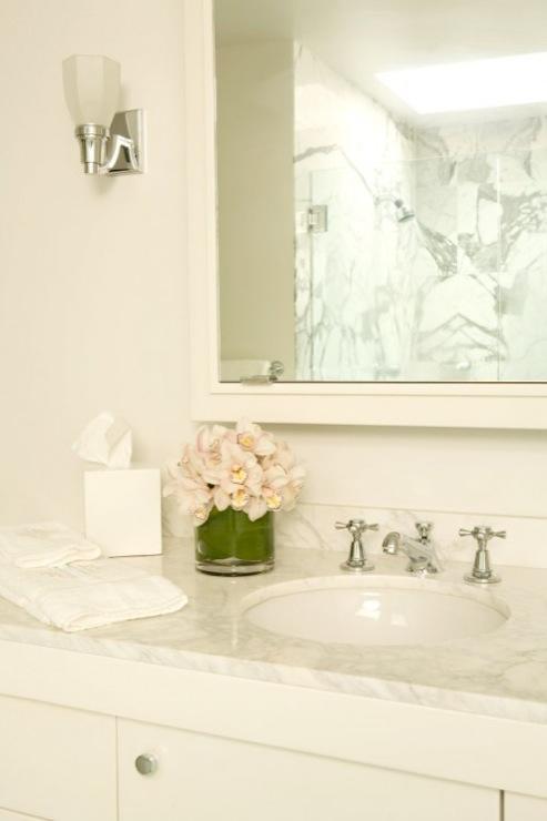 Wonderful  Douglas Single Sink Bathroom Vanity  White VAN09448TMW  JKEATS