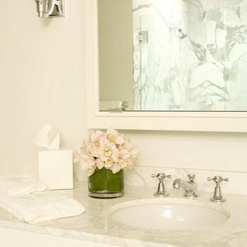 Marble Vanity, Traditional, bathroom, Elizabeth Dinkel Design