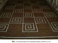 Rugs - NEW ORIENTAL TIBETAN - Stark Carpet Rugs - Stark Carpet - new tibetan, brown, blue, rug