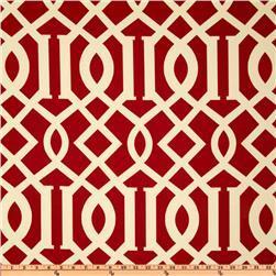 Fabrics - Richloom Solarium Outdoor Kirkwood Cherry - Discount Designer Fabric - Fabric.com - richloom, solarium, outdoor, kirkwood, cherry, fabric