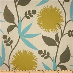 Fabrics - Thomas Paul Dahlia Aegean - Discount Designer Fabric - Fabric.com - thomas paul, dahlia, aegean, fabric