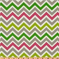 Fabrics - Premier Prints Zoom Zoom Chartreuse/Candy Pink - Discount Designer Fabric - Fabric.com - premier prints, zoom zoom, chartreuse, candy pink, fabric