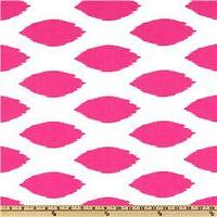 Fabrics - Premier Prints Chipper White/Candy Pink - Discount Designer Fabric - Fabric.com - premier prints, chipper, white, candy pink, fabric