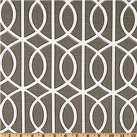 Fabrics - Dwell Studio Bella Porte Brindle - Discount Designer Fabric - Fabric.com - dwell studio, bella porte, brindle, fabric
