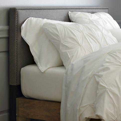 Beds/Headboards - Nailhead Upholstered Headboard | west elm - nailhead upholstered, headboard