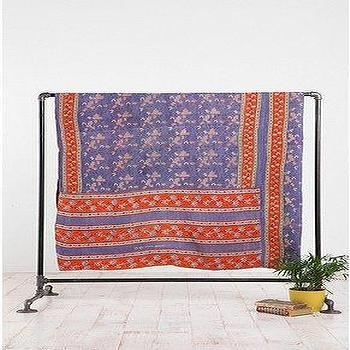 Bedding - UrbanOutfitters.com > One-of-a-Kind Ramya Kantha Quilt - ramya, kantha, quilt