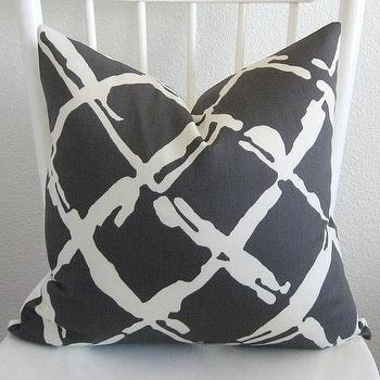 Decorative pillow cover Throw pillow Lattice by chicdecorpillows