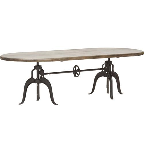 Double Crank Oval Dining Table Four Hands : 2e6d1071eb43 from www.decorpad.com size 500 x 500 jpeg 14kB