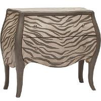 Storage Furniture - Kanya Zebra Chest - kanya, zebra, chest