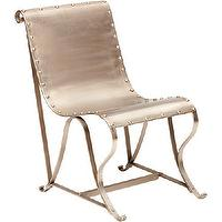 Seating - Nickel Sling Chair - nickel, sling, chair