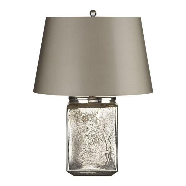 jolie table lamp in table desk lamps crate and barrel. Black Bedroom Furniture Sets. Home Design Ideas