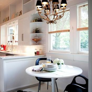Marble Saarinen Table, Eclectic, kitchen, AB Chao