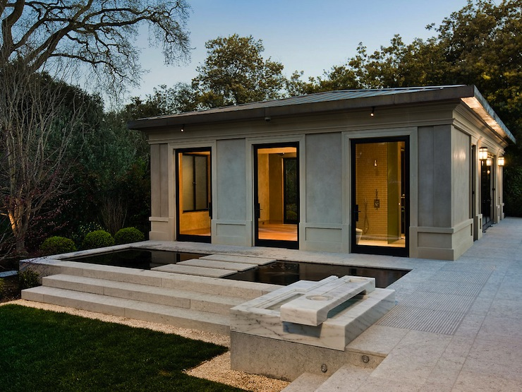 Pool House Contemporary Pool Butler Armsden Architects