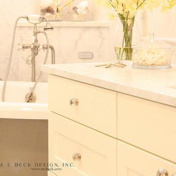 Gray Tub, Contemporary, bathroom, M. E. Beck Design