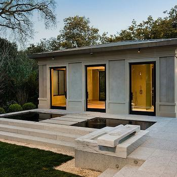 Butler Armsden Architects - pools - zen pool, pool house,  Zen Pool