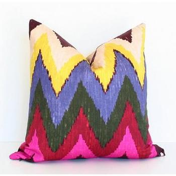 Pillows - Jewel Adras Ikat - jewel, adras, ikat, pillow