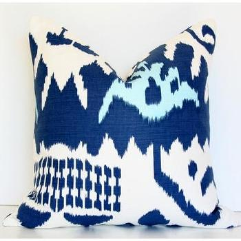 Pillows - Kazak Blue - kazak, blue, pillow