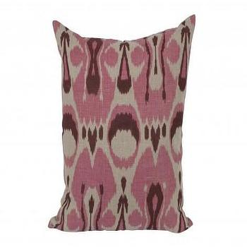 Ikat Pillow, Pink, Pillows, Accessories, Jayson Home